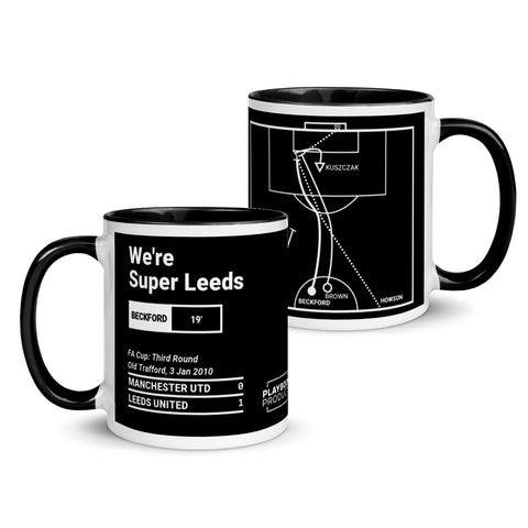 Greatest Leeds United Plays Mug: We're Super Leeds (2010)