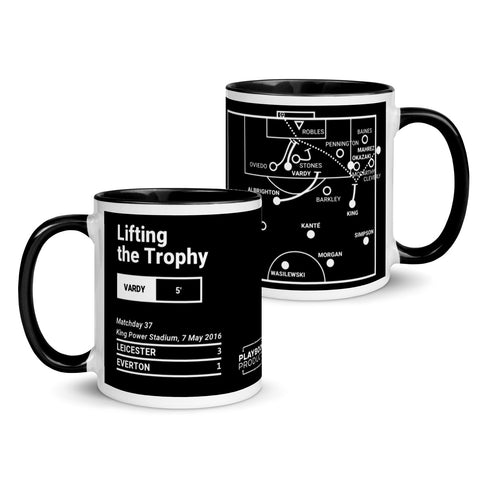 Greatest Leicester Plays Mug: Lifting the Trophy (2016)