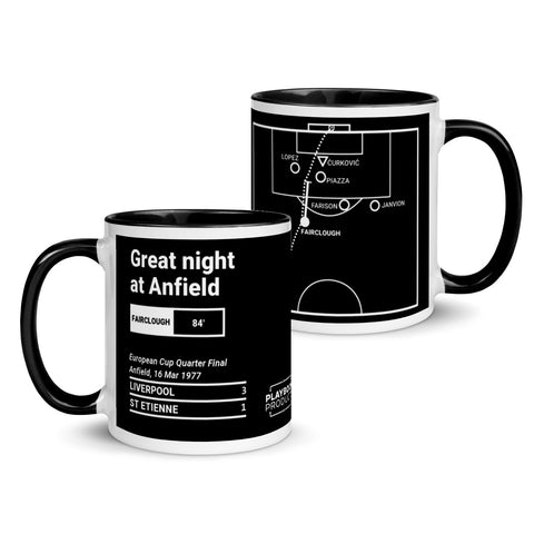 Greatest Liverpool Plays Mug: Great night at Anfield (1977)