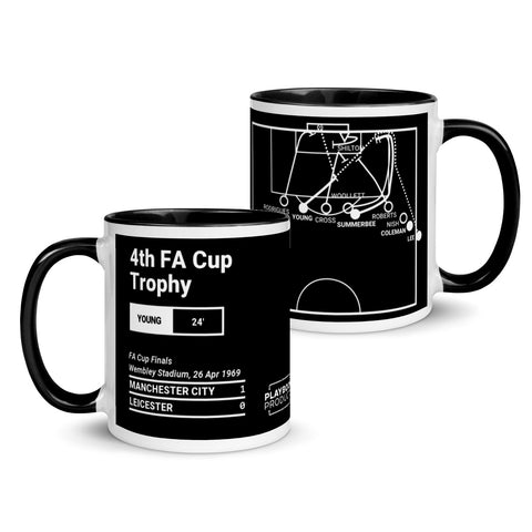 Greatest Manchester City Plays Mug: 4th FA Cup Trophy (1969)