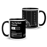 Greatest Dolphins Plays Mug: The Perfect Season (1973)
