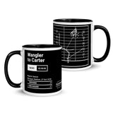 Greatest Michigan Plays Mug: Wangler to Carter (1979)