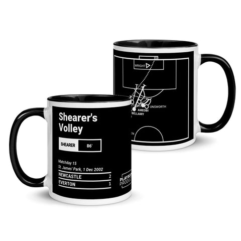 Greatest Newcastle Plays Mug: Shearer's Volley (2002)