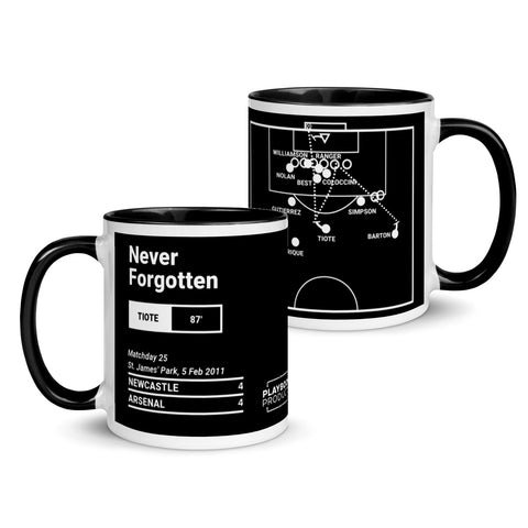 Greatest Newcastle Plays Mug: Never Forgotten (2011)