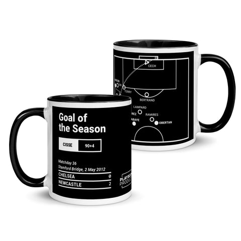 Greatest Newcastle Plays Mug: Goal of the Season (2012)
