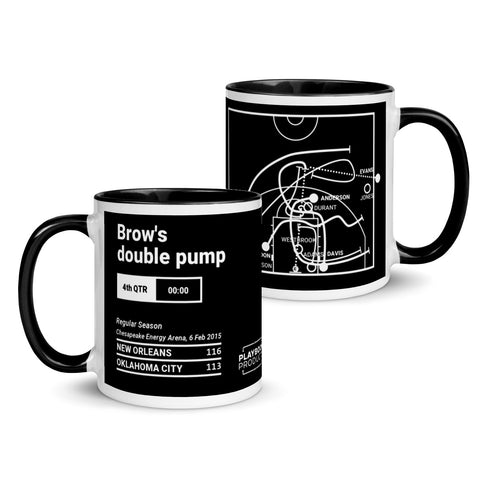 Greatest Pelicans Plays Mug: Double pump (2015)