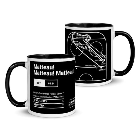 Greatest Rangers Plays Mug: Matteau! Matteau! Matteau! (1994)