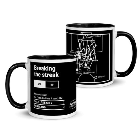 Greatest Portland Plays Mug: Breaking the streak (2014)