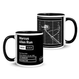 Greatest Raiders Plays Mug: Marcus Allen Run (1984)