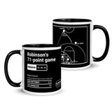 Greatest Spurs Plays Mug: Robinson's 71-point game (1994)