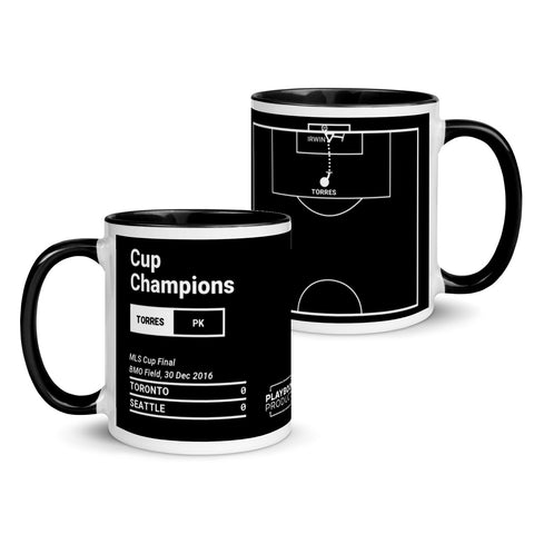 Greatest Seattle Plays Mug: Cup Champions (2016)