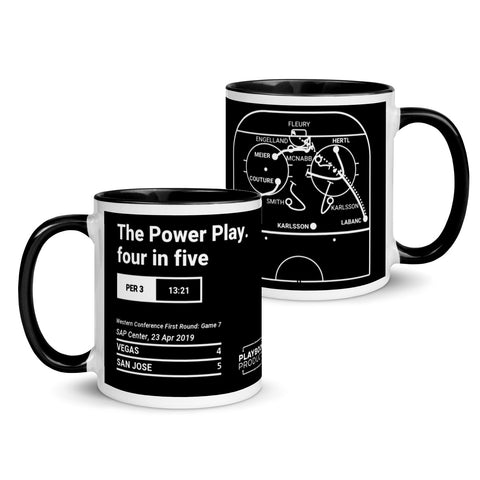 Greatest Sharks Plays Mug: The Power Play. four in five (2019)