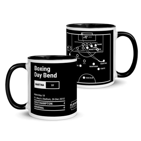 Greatest Southampton Plays Mug: Boxing Day Bend (2015)