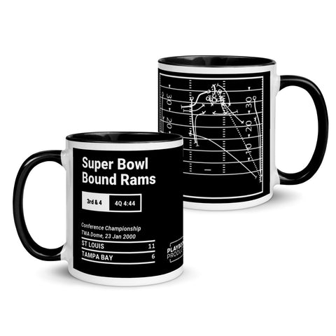 Greatest Rams Plays Mug: Super Bowl Bound Rams (2000)