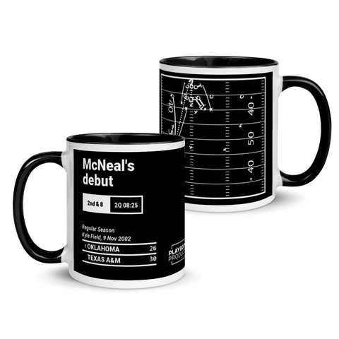 Greatest Texas A&M Plays Mug: McNeal's debut (2002)