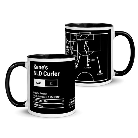 Greatest Tottenham Plays Mug: Kane's NLD Curler (2018)