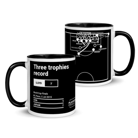 Greatest USA Plays Mug: Three trophies record (2015)