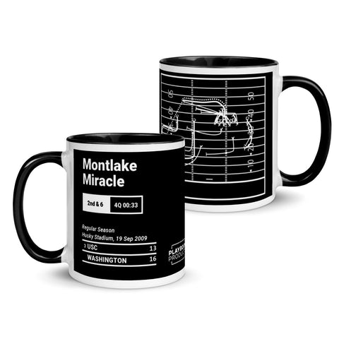 Greatest Washington Plays Mug: Montlake Miracle (2009)