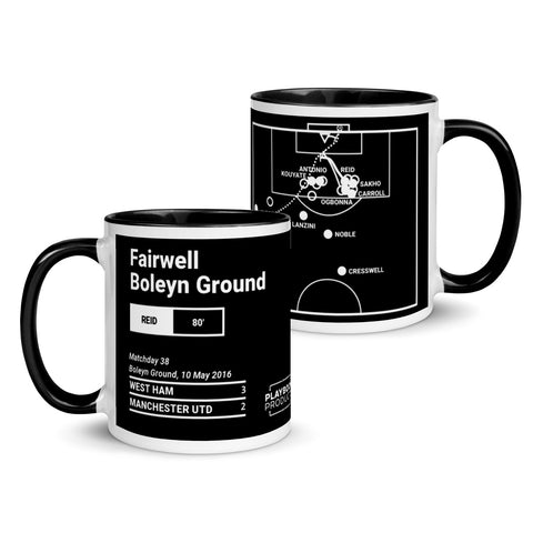 Greatest West Ham Plays Mug: Fairwell Boleyn Ground (2016)