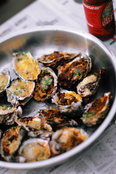 Ash Salsa Oysters