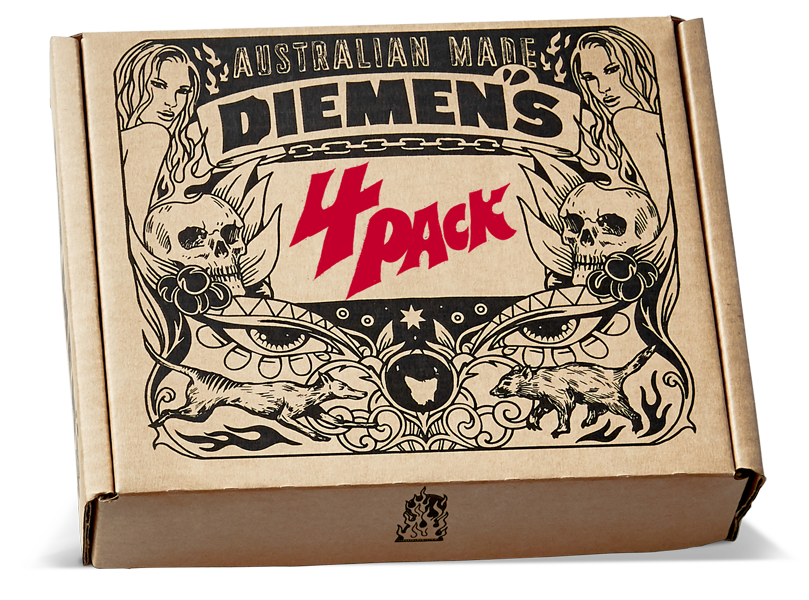 Diemen's 150mL Hot Sauce 4 Pack