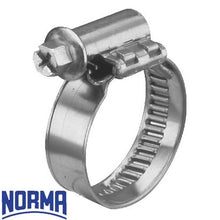 Load image into Gallery viewer, Norma SS Worm Drive Torro Hose Clamps HC