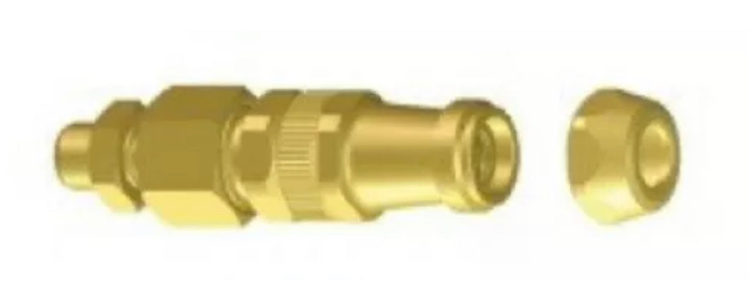 Braglia Airblast Straight adjustable brass nozzle for sprayers