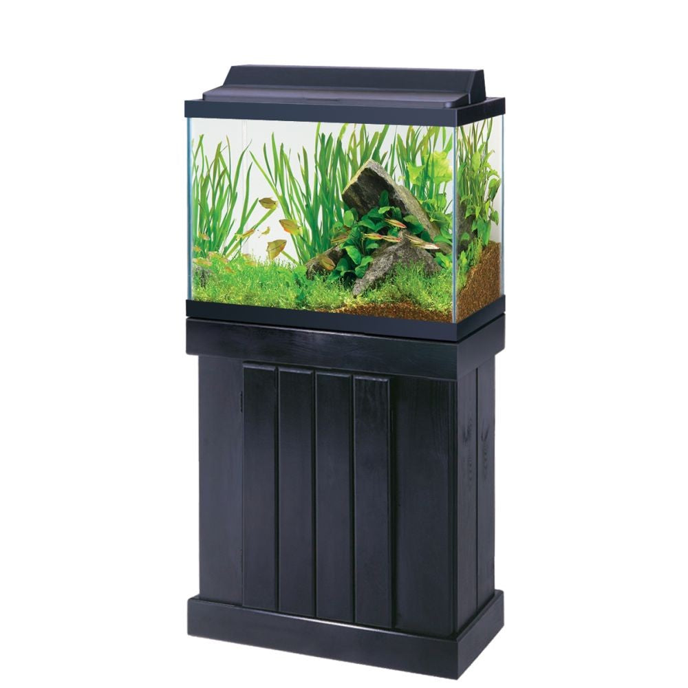 Aqueon Classic Pine Stands Black 24in