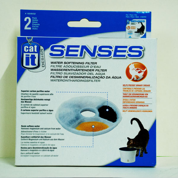 Catit Design Senses Replacement Water Filter Catridge 2pk