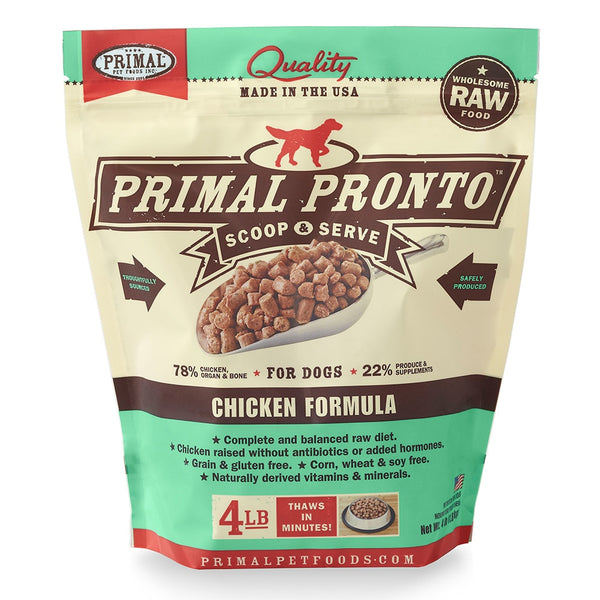 Primal Dog Pronto Chicken 4lb