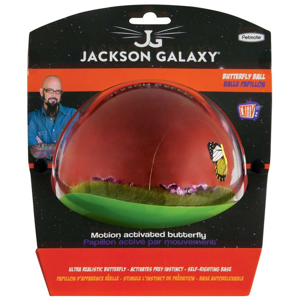 Jackson Galaxy Butterfly Ball Cat Toy
