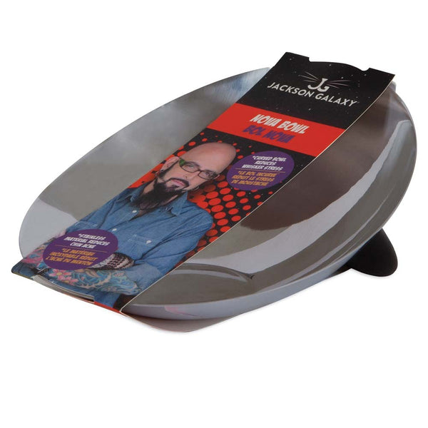 Jackson Galaxy Nova Stainless Steel Bowl