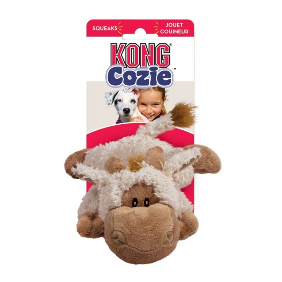 Kong Cozie Tupper Sheep Plush Dog Toy Medium