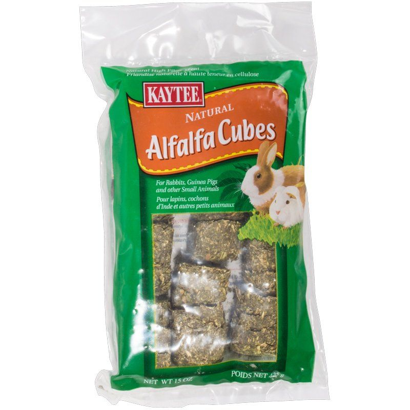 Kaytee Alfalfa Cube Small Animal Treat 15oz
