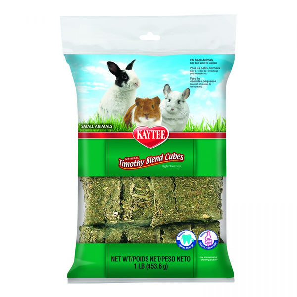 Kaytee Timothy Blend Cubes Small Animal Treat 1lb