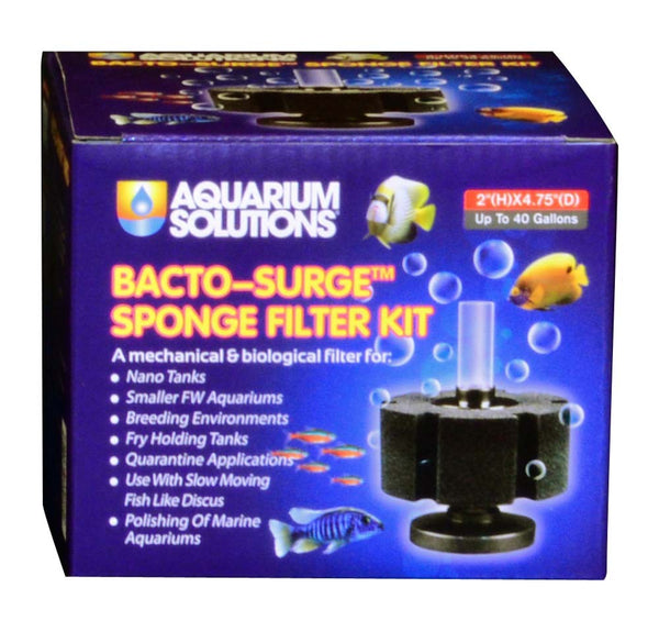 Aquarium Solutions Bacto-Surge Sponge Filter 40gal