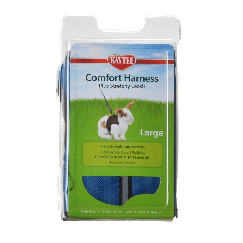 Kaytee Comfort Harness W/Stretchy Stroller Large