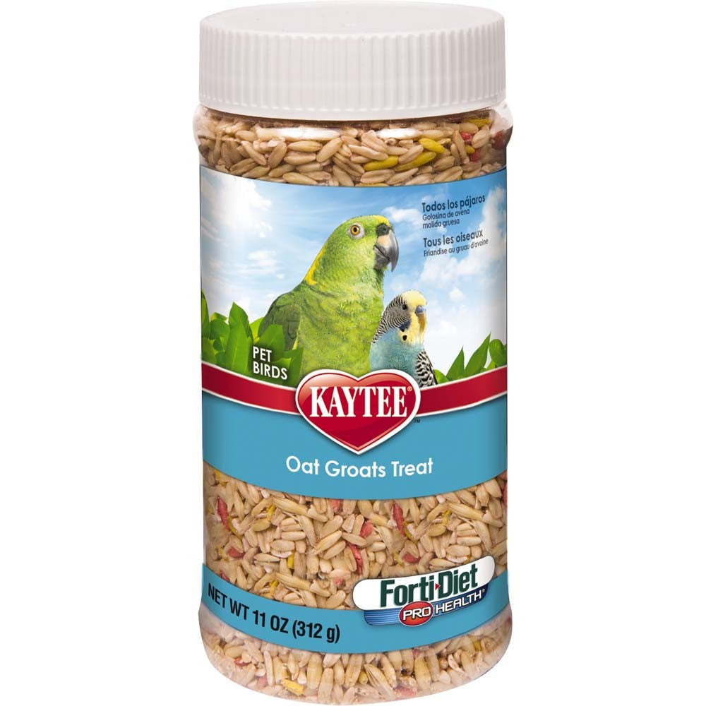 Kaytee Oat Groats Treat Bird Treat Jar 11oz