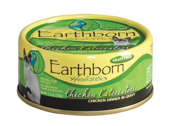Earthborn Cat Grain Free Chicken Catcciatori 5.5oz