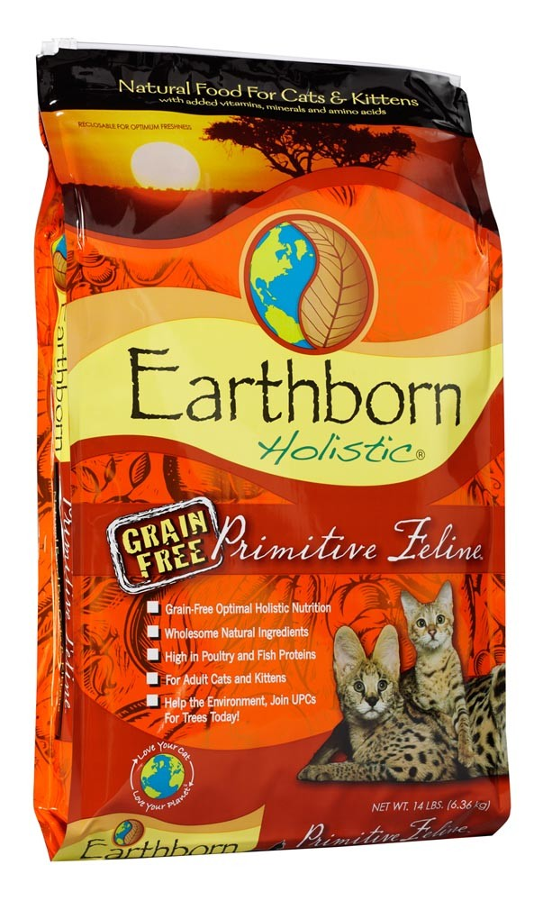 Earthborn Cat Grain Free Primitive Feline 14Lb