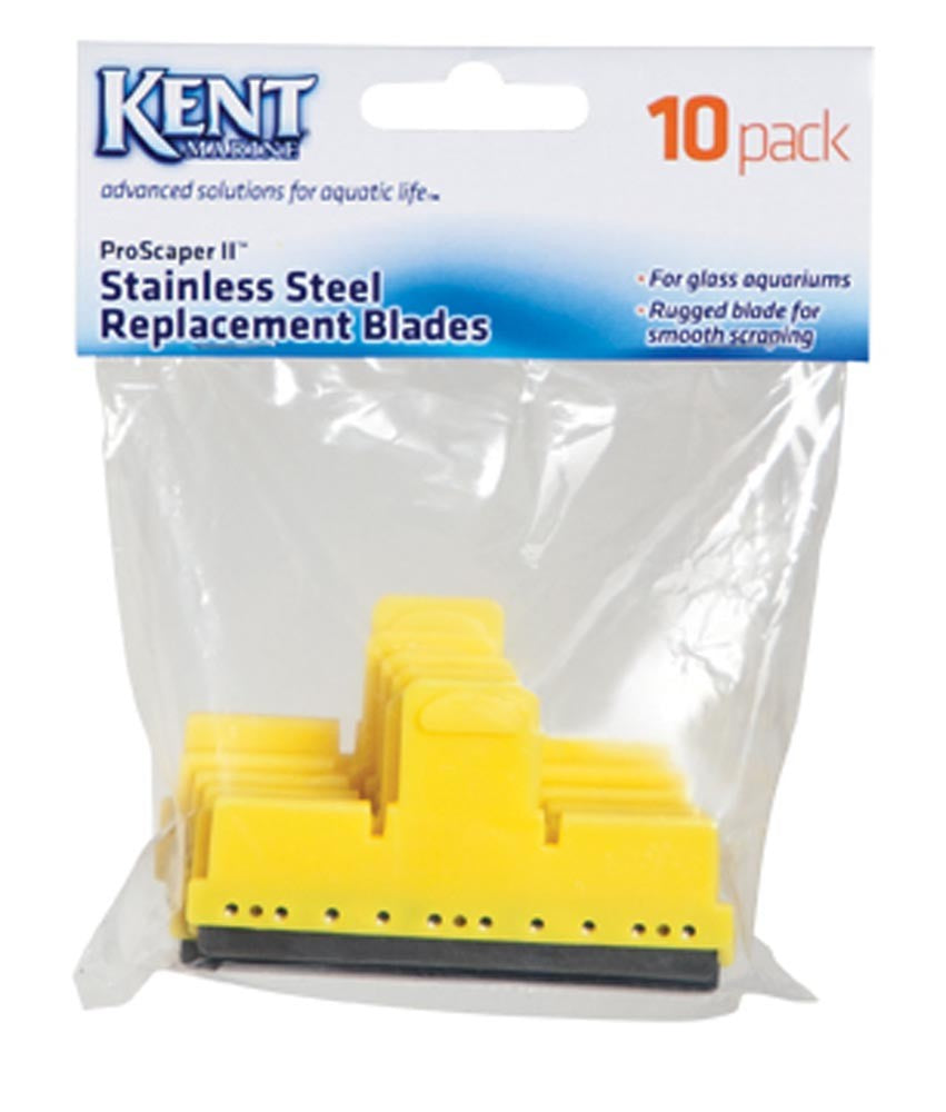 Kent Marine ProScraper II Stainless Steel Replacement Blades 10pk