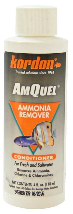 Kordon AmQuel Ammonia Remover Water Conditioner - 16 oz