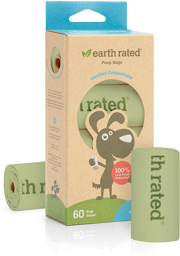 earth Rated Poop Bags 4 Roll Compost