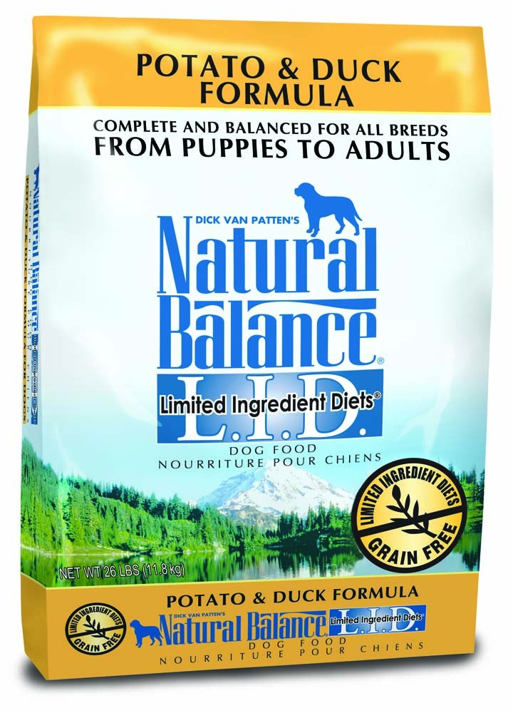 Natural Balance Limited Ingredient Diet Potato & Duck Dry Dog Food 26lb