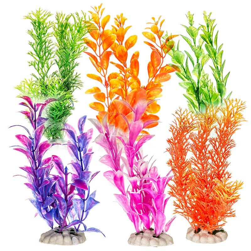 AT Colored Plants 7in 12 pk
