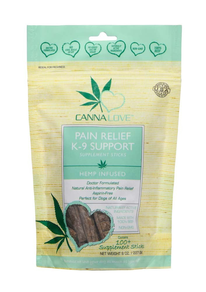 Pef Splmt Hemp Pain Relief 8Z