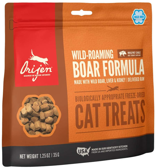 Orijen Cat Freeze-Dried Wild Boar Treat 1.25oz