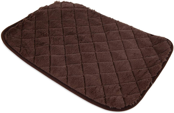 Petmate Quilted Kennel Mat Brown Small