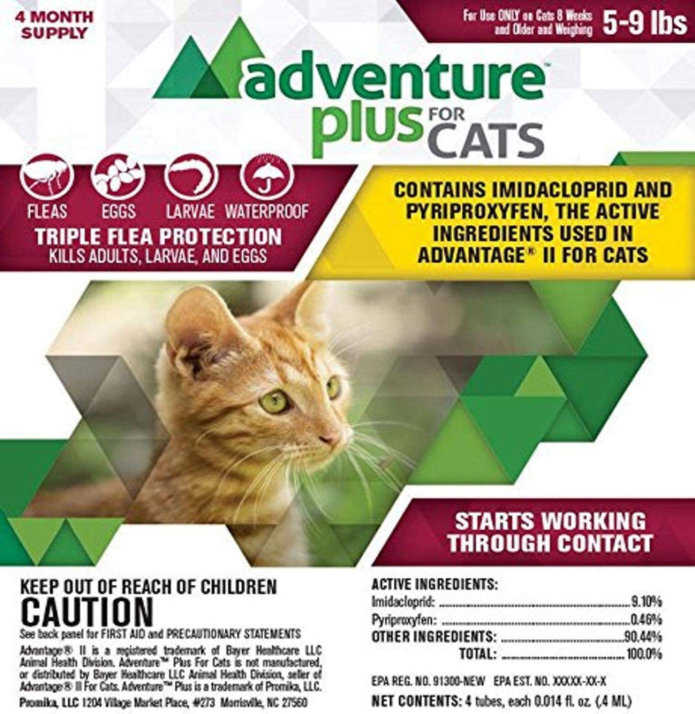 Adventure Plus Cat 5-9lb 4dse/p