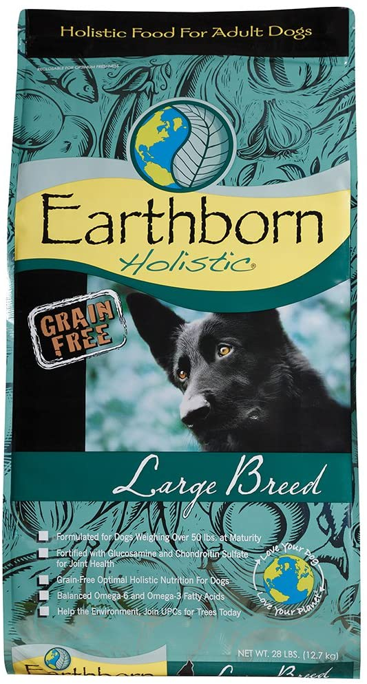 Earthborn Dog Grain Free Large Breed 28Lb